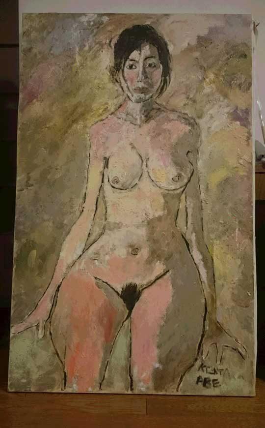 壇蜜さんを描いた
