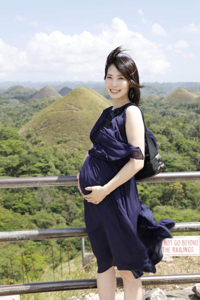 タイガーモブ菊池さんの妊娠しているときの写真