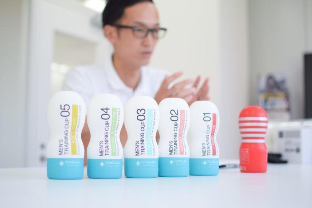 TENGA(テンガ)メンズトレーニングカップとテンガヘルスケア取締役の佐藤雅信さん