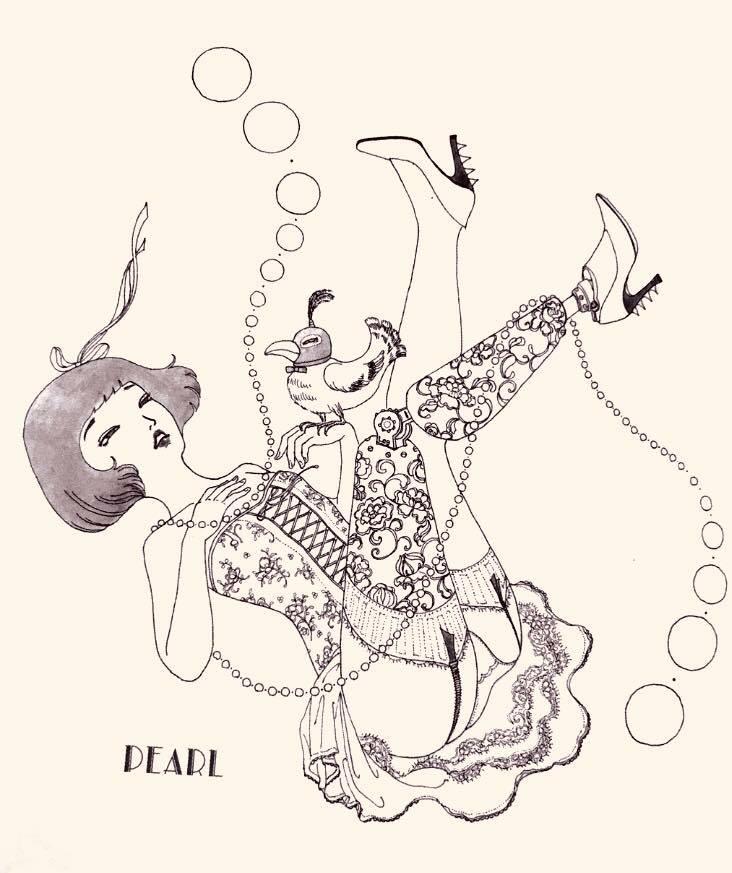 須川さんの描く義足の女の子