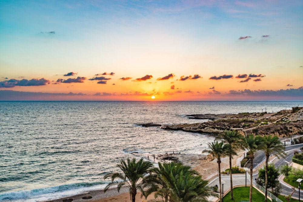 レバノンのビーチ