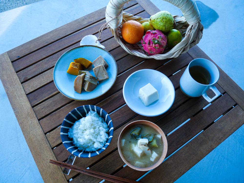 奄美大島での食事