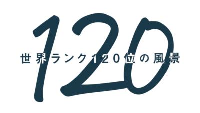 120位の世界