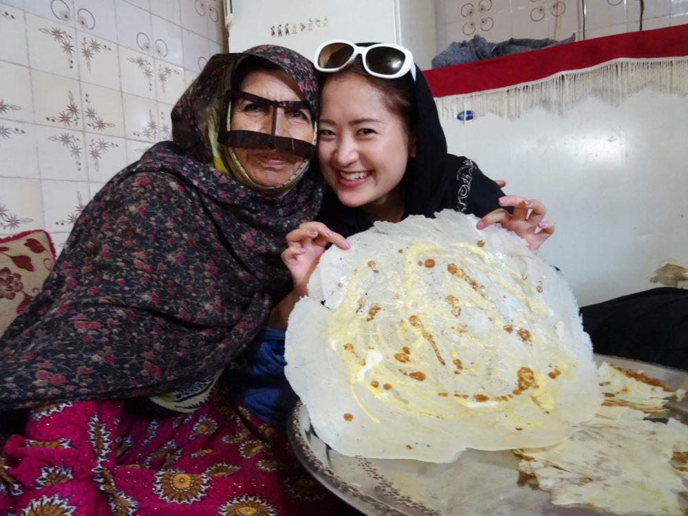 イラン南部にて