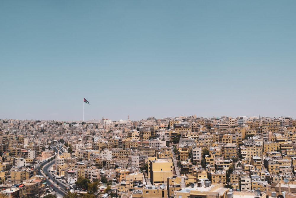 ヨルダンの街並み