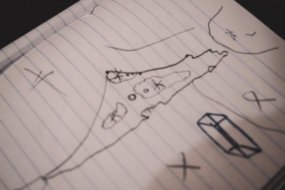 ムハンマドが書いた地図