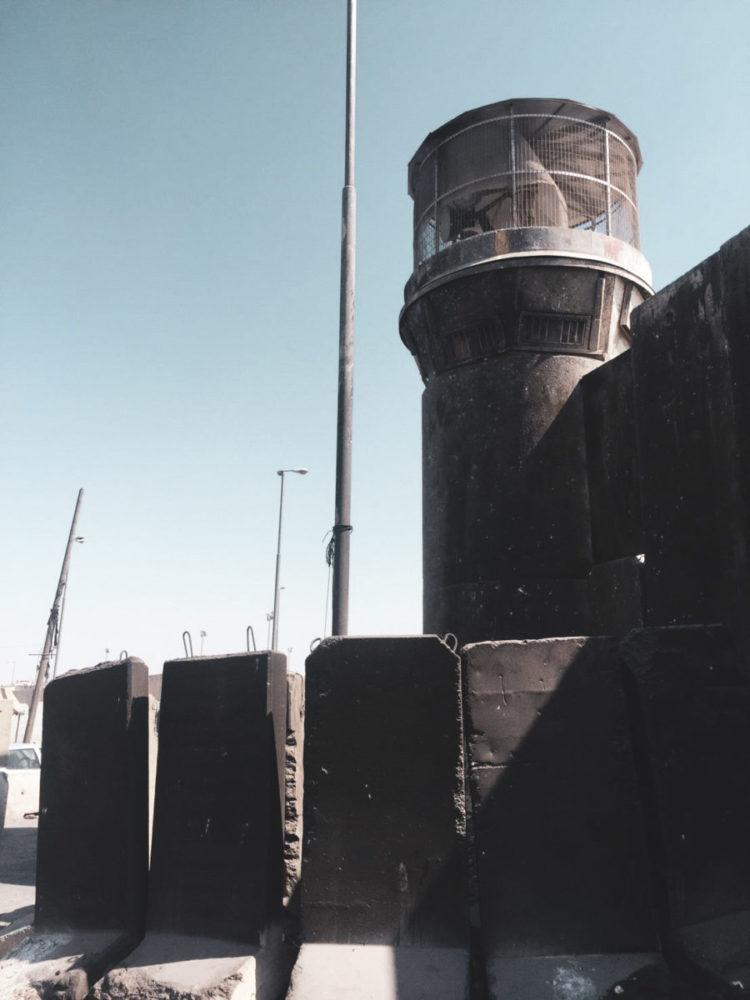 ラマッラー周辺の分離壁