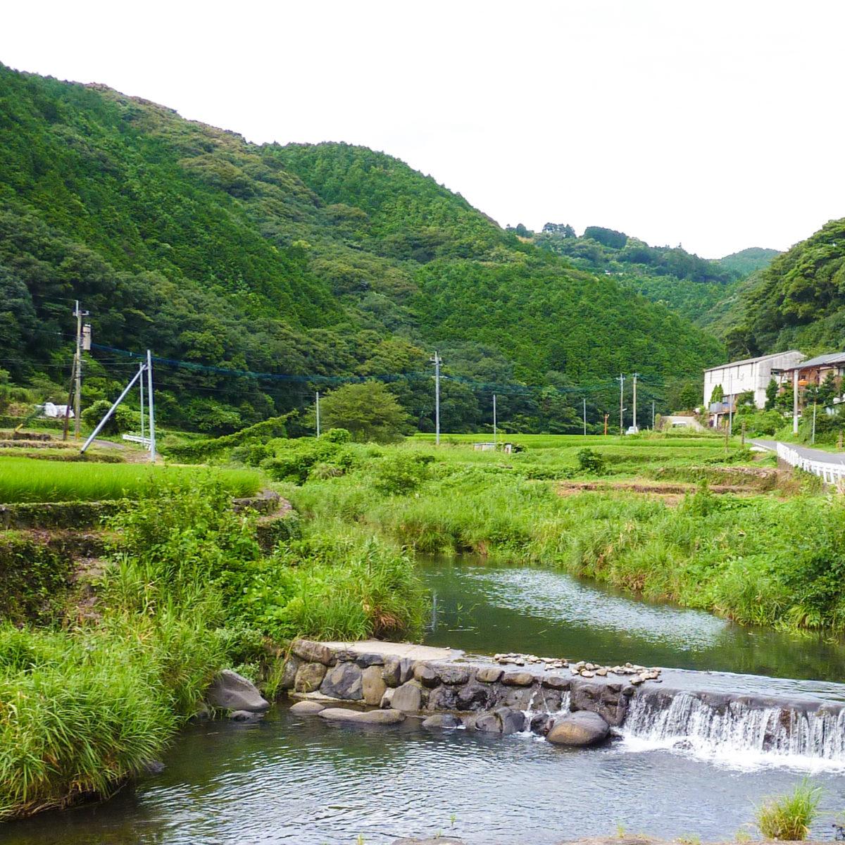 川棚町川原地区の美しい風景