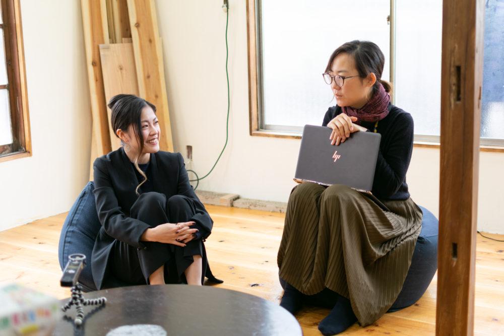 ばんちゃんと#なんでないのの福田和子さん