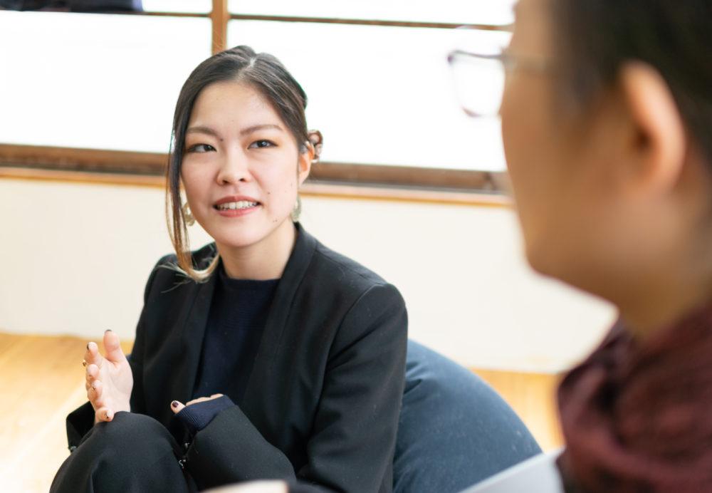 性産業について語る福田和子さん