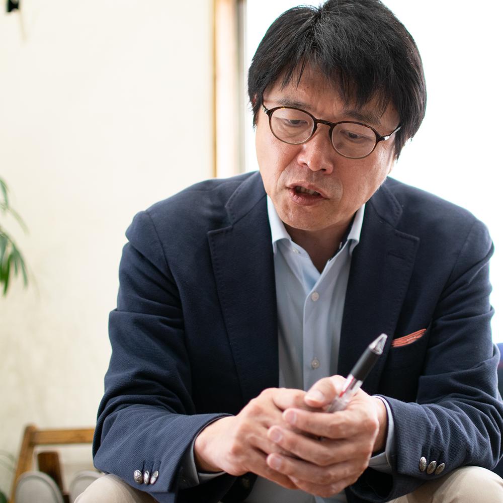 有収率の話をする水ジャーナリストの橋本淳司さん
