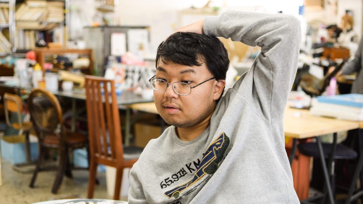 アーティスト円谷智大さんの写真