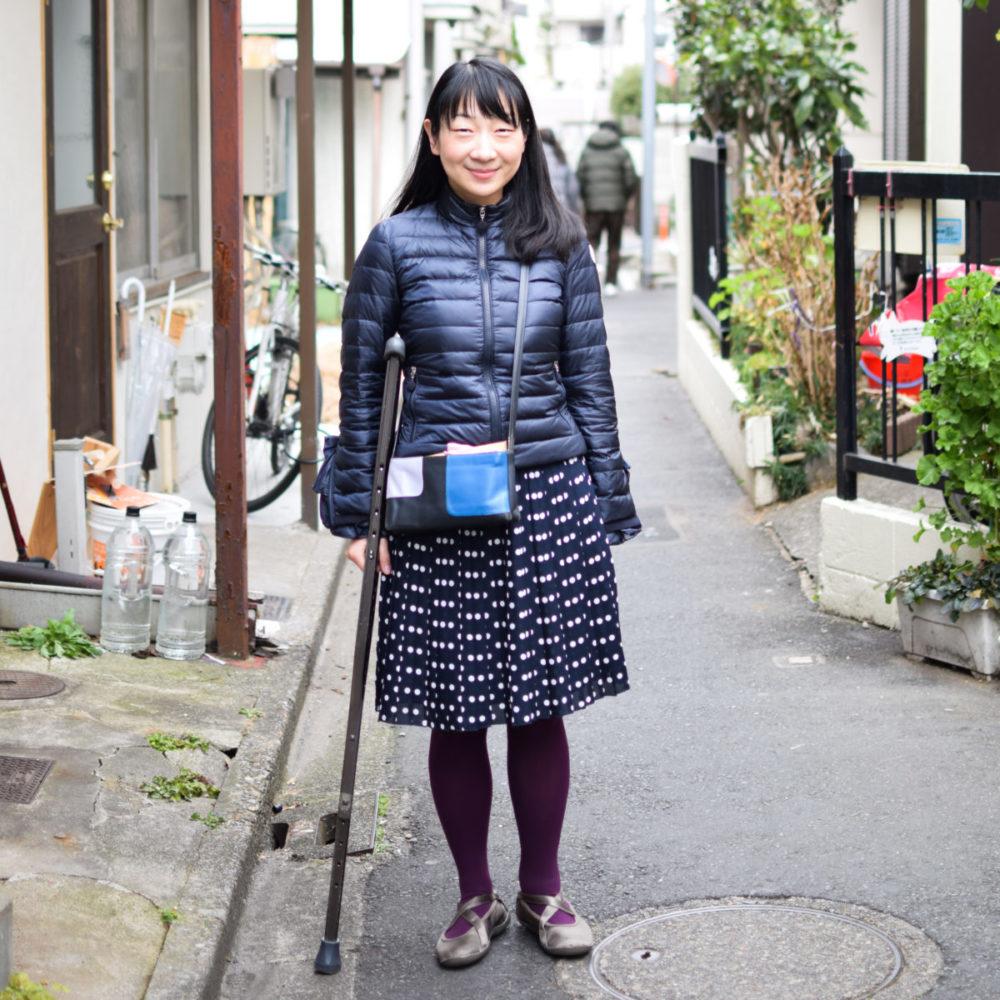 義足のイラストレーター須川まきこさん