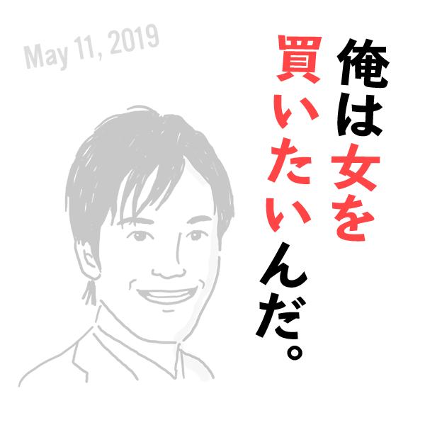 日本維新の会・丸山穂高の失言(2019年5月11日)