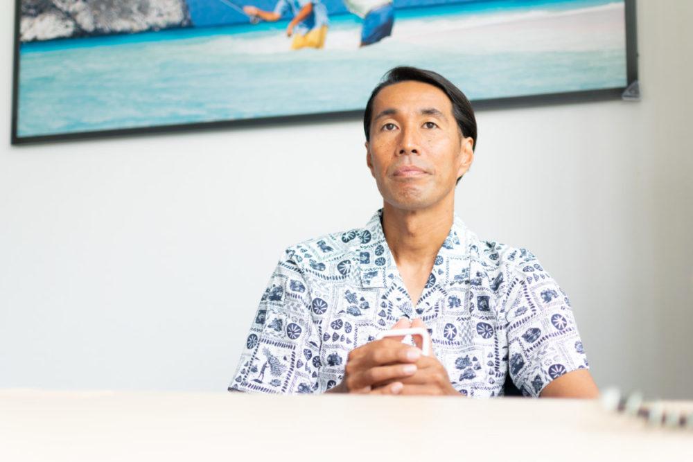元・パタゴニア日本支社長の辻井隆行さん